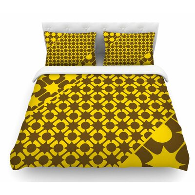 Pop by Nacho Filella Vector Featherweight Duvet Cover Size: Queen