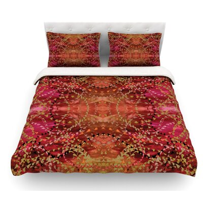 Summer by Nikposium Featherweight Duvet Cover Size: King, Fabric: Cotton