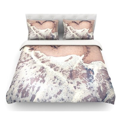 Heart Duvet Cover Size: King