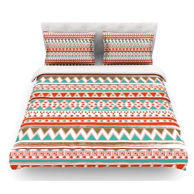 Boho Mallorca by Nika Martinez Featherweight Duvet Cover Size: Queen