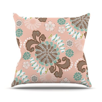 Sea Carnival Throw Pillow Size: 16 H x 16 W x 3 D