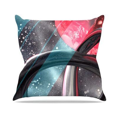 Geometric Mars Throw Pillow Size: 26 H x 26 W x 5 D