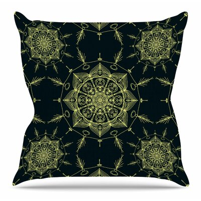 Mystic ll by Shirlei Patricia Muniz Throw Pillow Size: 20 H x 20 W x 4 D
