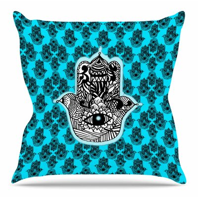 The Eye by Shirlei Patricia Muniz Throw Pillow Size: 26 H x 26 W x 4 D