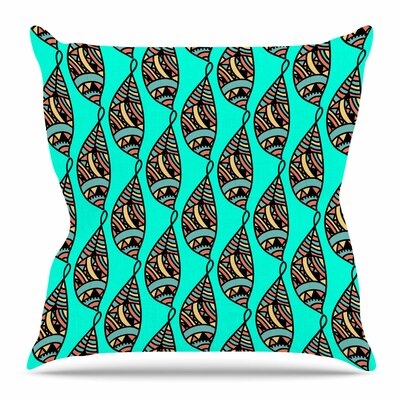 Fisherman of Illusions by Shirlei Patricia Muniz Throw Pillow Size: 18 H x 18 W x 4 D