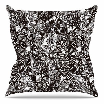 Secret Dream by Shirlei Patricia Muniz Throw Pillow Size: 26 H x 26 W x 4 D
