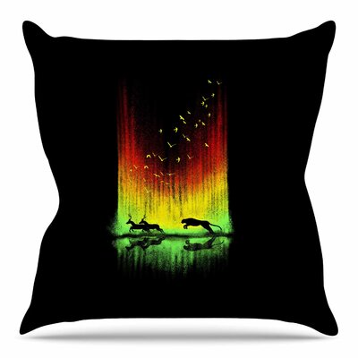 Give Chase by BarmalisiRTB Throw Pillow Size: 18 H x 18 W x 4 D