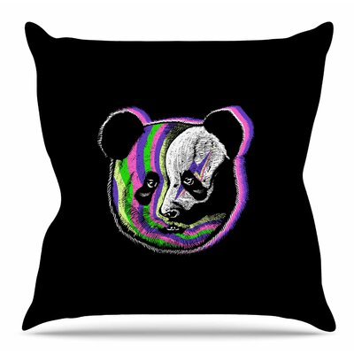 Fused by BarmalisiRTB Throw Pillow Size: 26 H x 26 W x 4 D