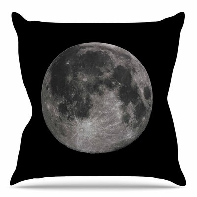 Luna by Alias Throw Pillow Size: 26 H x 26 W x 4 D
