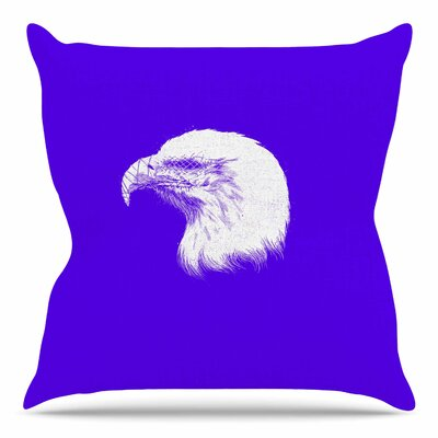 Blind and Silent by BarmalisiRTB Throw Pillow Size: 20 H x 20 W x 4 D