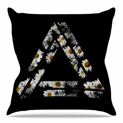 Impossible Daisy Chain by Alias Throw Pillow Size: 18 H x 18 W x 4 D