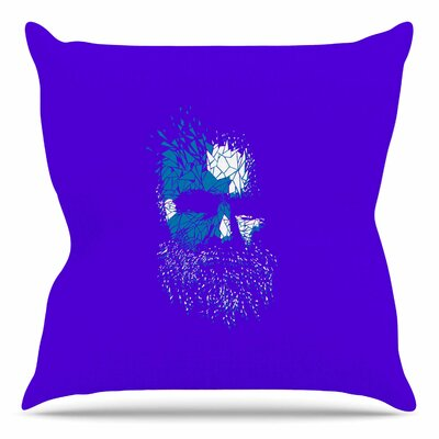Broken Pieces by BarmalisiRTB Throw Pillow Size: 18 H x 18 W x 4 D