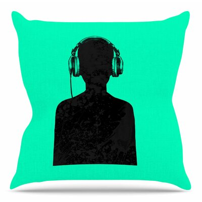 Music Throw Pillow Size: 16 H x 16 W x 4 D