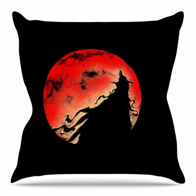 Cloak by BarmalisiRTB Throw Pillow Size: 18 H x 18 W x 4 D