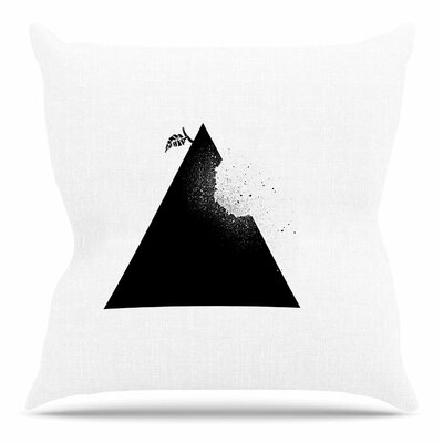 Apple Pyramid by BarmalisiRTB Throw Pillow Size: 26 H x 26 W x 4 D