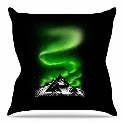 Aurora by BarmalisiRTB Throw Pillow Size: 16 H x 16 W x 4 D