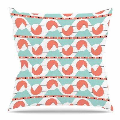 Geometric Throw Pillow Size: 18 H x 18 W x 4 D