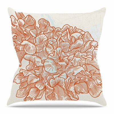 Lettuce by Sam Posnick Throw Pillow Size: 20 H x 20 W x 4 D