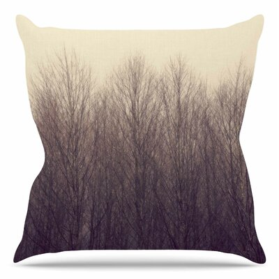 Forest by Robin Dickenson Throw Pillow Size: 20 H x 20 W x 4 D