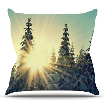 Shine Bright by Robin Dickenson Throw Pillow