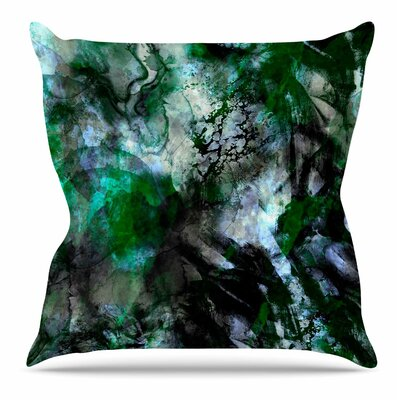 Camouflage by Shirlei Patricia Muniz Throw Pillow Size: 16 H x 16 W x 4 D