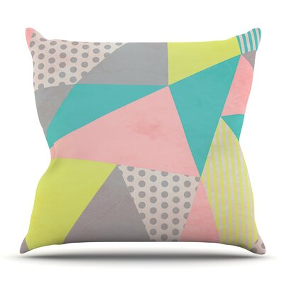 cheap geometric pastel by louise machado throw pillow for sa