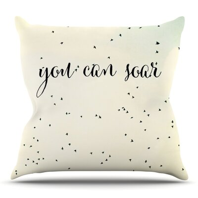 You Can Soar by Susannah Tucker Throw Pillow