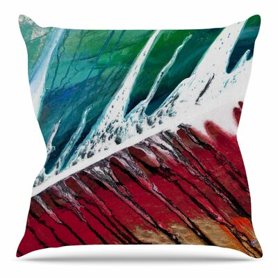 Splish Splash by Steve Dix Throw Pillow