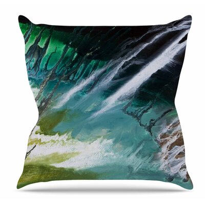 Ocean Majestic by Steve Dix Throw Pillow
