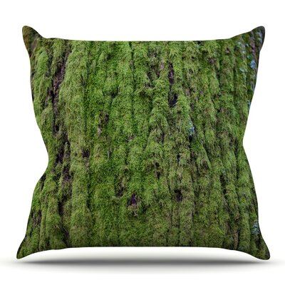 Emerald Moss by Susan Sanders Throw Pillow