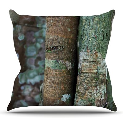 Into the Woods by Susan Sanders Throw Pillow