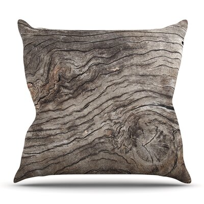 Tree Bark by Susan Sanders Throw Pillow