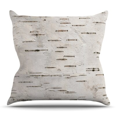 Painted Tree by Susan Sanders Throw Pillow