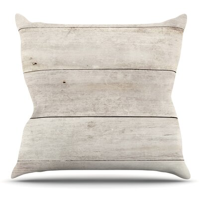 Wash Wood by Susan Sanders Throw Pillow