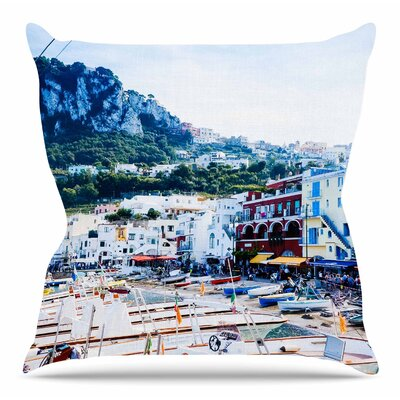 Capri Paradise by Violet Hudson Throw Pillow