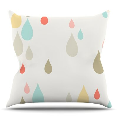 Rainy Days by Very Sarie Throw Pillow