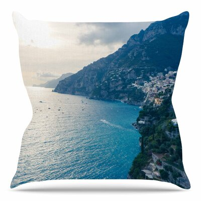 Amalfi Edge by Violet Hudson Throw Pillow