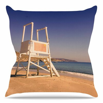 Life Tower by Violet Hudson Throw Pillow