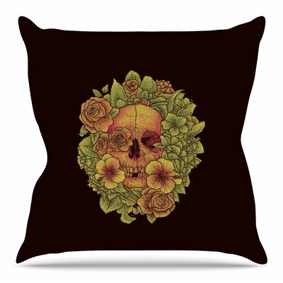 Fragrant Dead by BarmalisiRTB Throw Pillow Size: 20 H x 20 W x 4 D