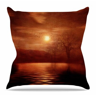 Woods to Conjure by Viviana Gonzalez Throw Pillow Size: 18 H x 18 W x 4 D