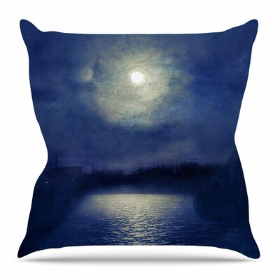Magnolia by Viviana Gonzalez Throw Pillow Size: 26 H x 26 W x 4 D