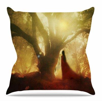 Autumn Song by Viviana Gonzalez Throw Pillow Size: 18 H x 18 W x 4 D