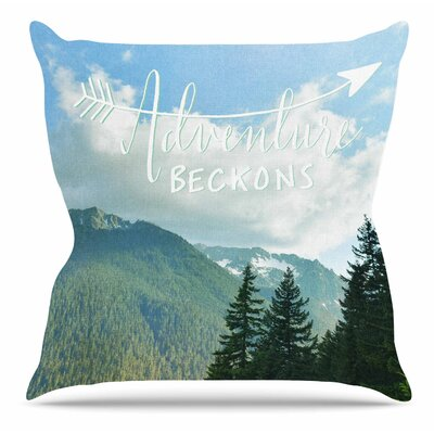 Adventure Beckons by Robin Dickenson Throw Pillow