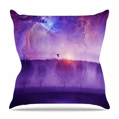Orion Nebula by Viviana Gonzalez Throw Pillow Size: 26 H x 26 W x 4 D