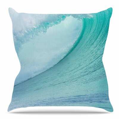 Ocean Wave by Susan Sanders Throw Pillow