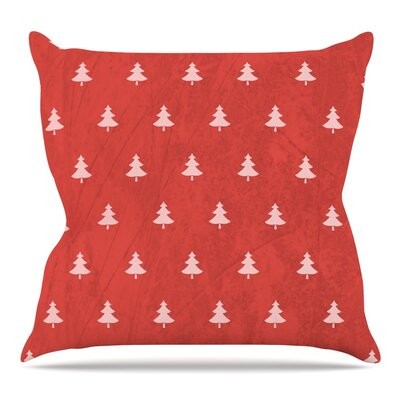 Pine Pattern by Snap Studio Throw Pillow