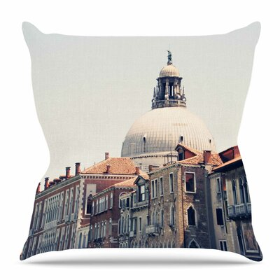 Venice 5 by Sylvia Coomes Throw Pillow Size: 26 H x 26 W x 4 D