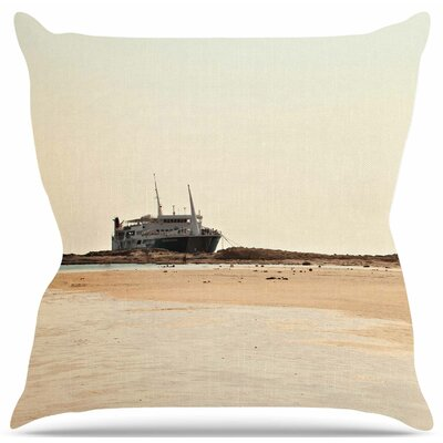 Nautical Bliss by Sylvia Coomes Throw Pillow Size: 20 H x 20 W x 4 D