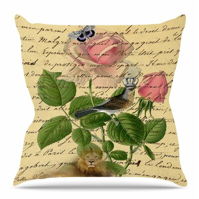Vintage Dream by Suzanne Carter Throw Pillow Size: 20 H x 20 W x 4 D