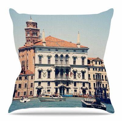 Venice 6 by Sylvia Coomes Throw Pillow Size: 20 H x 20 W x 4 D